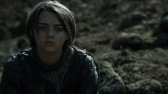 """Maisie Williams alias Arya Stark - © Saison 4 épisode 10 """"The Children"""""""