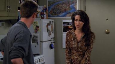 © Saison 3 épisode 8 - Janice, la plus grande peur de Chandler.