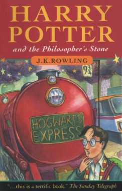 Une couverture originelle - © http://harrypotter.wikia.com/wiki/Cover_art?file=Harry01english.jpg
