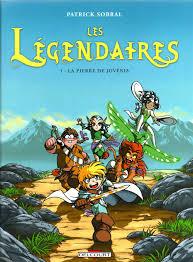 Tome 1, La Pierre de Jovénia - © http://fr.leslegendaires.wikia.com/wiki/Tomes_1_%C3%A0_8