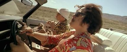 Raoul Duke et Maître Gonzo - Johnny Depp et Benicio Del Toro.