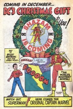 Publicité pour le premier comic Captain Marvel - © https://flic.kr/p/8ZRwcB