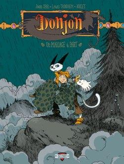 Couverture Donjon Zénith - © http://www.editions-delcourt.fr/catalogue/bd/donjon_zenith_5_un_mariage_a_part