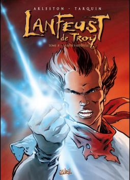 Lanfeust de Troy, tome 8 - © http://soleilprod.com/album/2139/s%C3%A9rie/LANFEUST+DE+TROY/titre/La+B%C3%AAte+fabuleuse+NED