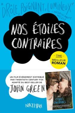 Couverture du roman avec promotion du film - © http://www.nathan.fr/catalogue/fiche-produit.asp?ean13=9782092543030
