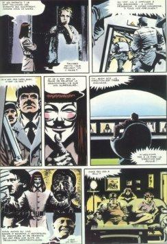Extrait VF - © http://www.bedetheque.com/serie-1818-BD-V-pour-Vendetta.html