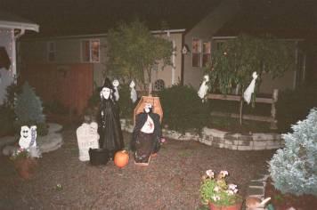 Maison décorée pour Halloween - © https://flic.kr/p/3e2FpK