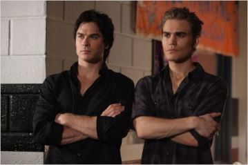 Ian Somerhalder et Paul Wesley, saison 2 - © http://www.allocine.fr/series/ficheserie-5154/photos/detail/?cmediafile=19498352