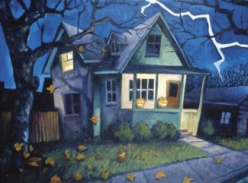La maison hantée, repaire par excellence des fantômes - © https://flic.kr/p/5R233K