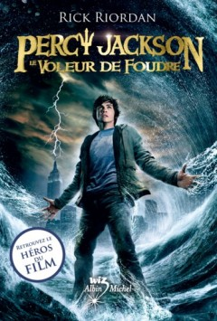 Percy Jackson tome 1, éditions Albin Michel, collection Wiz - © http://www.albin-michel.fr/Le-Voleur-de-foudre-EAN=9782226249302