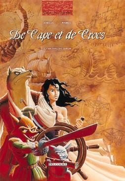 Tome 3, L'Archipel du Danger - © http://www.editions-delcourt.fr/catalogue/bd/de_cape_et_de_crocs_3_l_archipel_du_danger