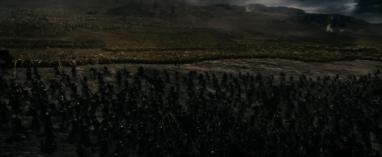 Le Bien contre le Mal : hommes et Elfes VS orques et gobelins - © capture d'écran, SdA 1.