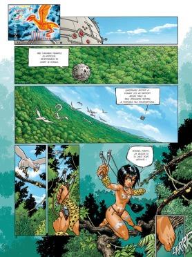 La toute première planche ! - © http://www.editions-delcourt.fr/catalogue/bd/sillage_integrale_t_1_a_3