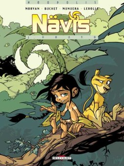 Nävis tome 1, Houyo - © http://www.editions-delcourt.fr/catalogue/bd/naevis_1_houyo