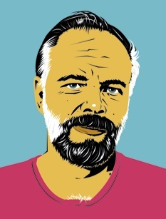 Portrait dessiné du célèbre auteur Philip K. Dick - © http://commons.wikimedia.org/wiki/File:Philip_k_dick_drawing.jpg#/media/File:Philip_k_dick_drawing.jpg